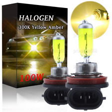 H11 Replacement LED Bulbs Headlight 3000K Yellow Halogen Bulbs Lamps Beam 100W