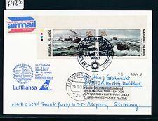 66527) LH FF Frankfurt - Oslo Norwegen 8.10.98, card Marshall Isl. ship U-Boot