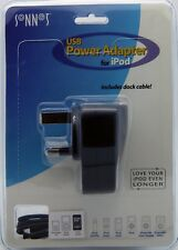 USB Mains Power Adaptor Wall Charger UK Plug Adapter For Mobile Phone iPhone