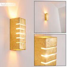 Applique Up/Down Spot mural Lampe de séjour Lampe de corridor Lampe murale dorée
