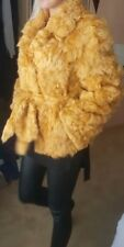 Real soft goatskin fur (sheepskin) jacket/coat size 10-12 EU 38-40 US 8-9