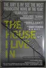 THE HOUSE I LIVE IN DS ROLLED ORIG 1SH MOVIE POSTER CRIMINAL JUSTICE DOCU (2012)