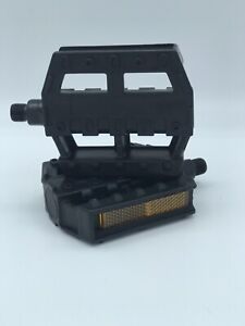 NEW BICYCLE PEDALS 1/2 INCH PEDAL PLASTIC PEDAL BIKE REPLACEMENT