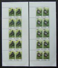R.D.CONGO-Monkey-WWF 4 M/Sh.MNH**-E3217