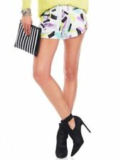 Casual Hand-wash Only Geometric Shorts for Women