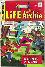 Life With Archie Comic Book #145, Archie 1974 FINE+