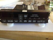 Original Genuine GM 15-73361 HVAC Control Panel for many Cutlass with ATC