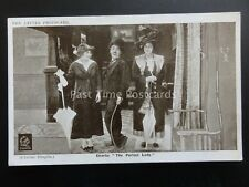 Charlie Chaplin THE PERFECT LADY Red Letter Photocard c1915