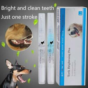 Pet Dog Cat Teeth Tartar Dental Calculus Stones Remover Toothbrush Cleaning Kit