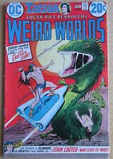 DC COMICS, 1973 TARZAN WEIRD WORLDS #2 , Good Condition