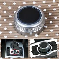 Multimedia MMI Main Menu Rotary Control Switch Knob Cap Cover fit Audi A6 A8 S6