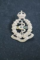 WW1 Canadian CEF Army Medical Corps Officers Cap Badge