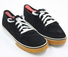 The Hundreds Mens Black Suede Sneakers Shoes Size 11M
