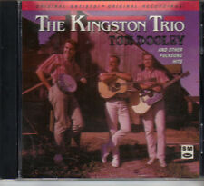 THE KINGSTON TRIO - Tom Dooley & other FolkSong Hits - Capitol SM Issue CD  VG++