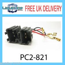 PC2-821 PEUGEOT 206 SPEAKER ADAPTOR LEADS STEREO CABLE HEADNUIT CT55-PE02
