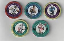 1997 Playoff 1st & 10 Chip Shot Lot Faulk, Byner +3