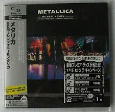 Metallica-S & M Japon SHM MINI LP 2cd OBI NOUVEAU! UICY - 94672-3