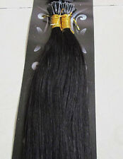 """5A 18""""-32"""" Remy Human Hair Stick I-tip In Extensions 1g/s 100s 100g Micro Beads"""