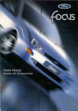 Ford Focus Mk1 Accessories 1998-99 UK Market Sales Brochure