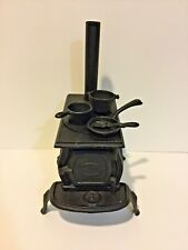 Old Mountain Cast Iron Mini Replica Wood Stove Set with Accessories
