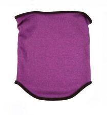 Isotoner Signature Womens Heathered Softshell Neck Gaiter Scarf Purple One Size