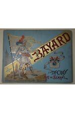 CAHU Histoire du Chevalier Bayard Illustrations de Paul de SEMANT. Reliure Engel