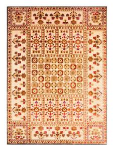 Authentic Modern Persian Floor Rug Carpet Runner Brand New Cream Red100cm x150
