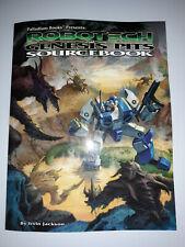 Palladium Robotech The Genesis Pits Sourcebook. RPG Book