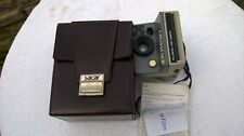 VINTAGE POLAROID LAND CAMERA THE BUTTON+CASE+INSTRUCTIONS SX70