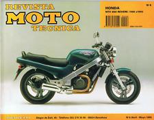 MANUAL DE TALLER Y REPARACION MOTO TECNICA HONDA NTV 650 REVERE RM6