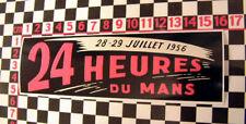 1956 Le Mans Sticker - Jaguar XK120 XK140 XK150 Aston Martin DB3 Porsche 356