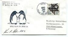 USCGC Polar Sea WAGB-11 Seattle Polar Antarctic Cover SIGNED