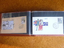 BULK AUSTRALIA FDCs/PSEs & SOUVENIR COVERS - 100 items