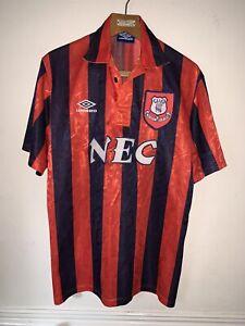 Vintage Everton Umbro Away Shirt 1992/94 Season In Good Condition Size L NEC