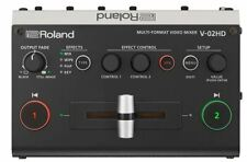 Roland V-02HD Multi-Format Video Mixer Factory Refurbished FREE SHIPPING