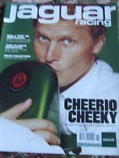 JAGUAR RACING MAGAZINE NOV/DEC 2000 GEAR SELECTION CHEERIO CHEEKY JOHNNY HERBERT