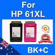 2x Ink HP 61XL for Envy 4500 4504 5530 Printer High Yield Inkjet Cartridges set
