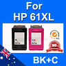 2x Ink for HP 61XL Envy 4500 4504 5530 Printer High Yield Inkjet Cartridges UD