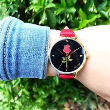 "Thats Vintage ""Crimson Rose"" designer watch"