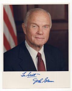 "John Glenn - NASA Astronaut - Signed 8x10 Photograph to ""Scott"""