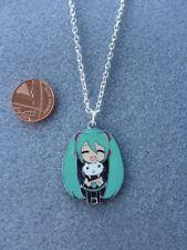 "Hatsune Miku Vocaloid Enamel Charm Pendant Necklace 18"" Japanese Anime Gift 192"