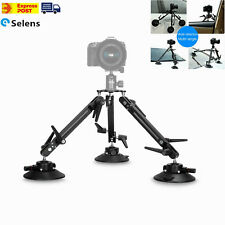 "Selens Video Camera SK-1 Car Window Suction Cup 1/4"" Mount Stabilizer Tripod"