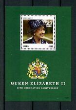 Liberia 2013 MNH Coronation Queen Elizabeth II 60th Anniv 1v S/S Royalty Stamps
