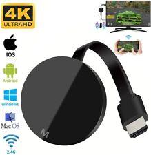 Chromecast miracast d'affichage dongle 4K FULL HD 1080P HDMI média vidéo WIFI TV