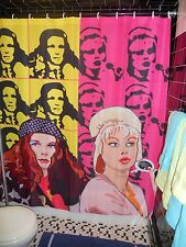Ab Fab Absolutely Fabulous Patsy Edina Shower Curtain Peter Max Style Gay Drag