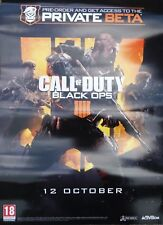 UK CALL OF DUTY 2018 PROMO POSTER - BLACK OPS 4 VIDEO GAME ACTIVISION COD