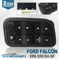 Master Power Window Switch for Ford Falcon XR6 XR8 BA BF 02~08 With Illumination