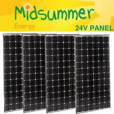 4x 250W (1000W) Panasonic HiT N Mono Solar Panels - NEW 12V 24V - 25 yr warranty