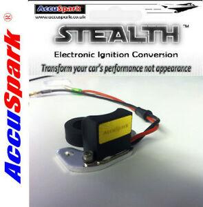 Austin A40 Farina AccuSpark Electronic ignition kit For Lucas DM2 & 25D +EARTH