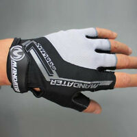 New Practical Professional Cycling Bike Bicycle Half Finger Glove S/M/L/XL Black